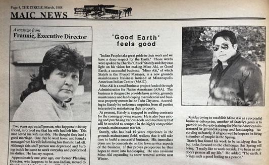 Frannie Fairbanks, March 1988