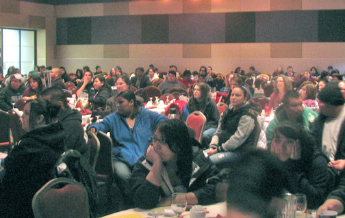 red lake tribe hosts education summit