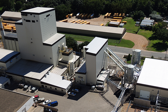 The Koda Energy complex in Shakopee, a partnership between the fifth and sixth generation owners of  Rahr Malting Co. and the